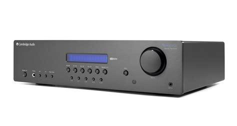 Cambridge Sr20 Audio Topaz Hitam cambridge audio topaz sr20 stereo receiver black