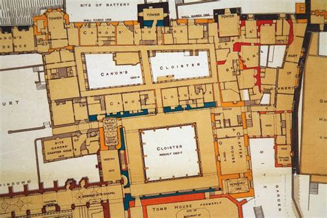 floor plan of windsor castle sir w h st john hope windsor castle ground floor plan