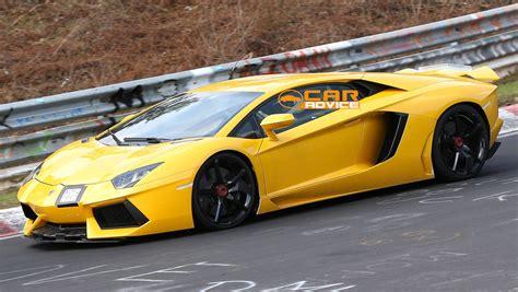 Lamborghini Nurburgring Lamborghini Aventador Sv Bull Spied At The