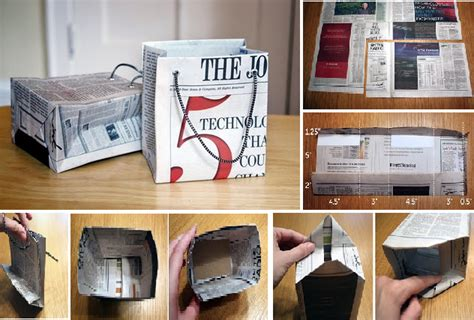 How Do You Make Paper Bags - learn how to make a stylish gift bag out of newspaper goodiy