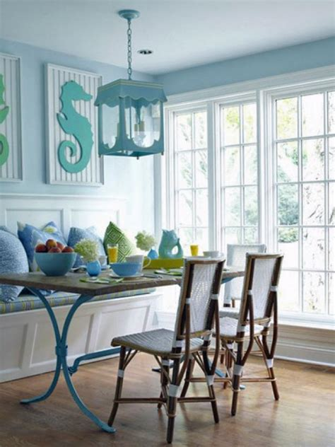 Coastal Dining Room Decorating Ideas by Painted Kitchen Table Design Ideas Pictures From Hgtv Hgtv