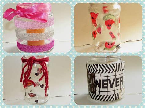 decorar vasos de vidrio para regalar 4 maneras f 193 ciles para decorar frascos de vidrio youtube