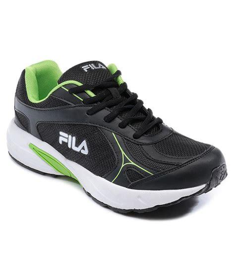fila green sneakers fila sprint black green sports shoes price in india buy