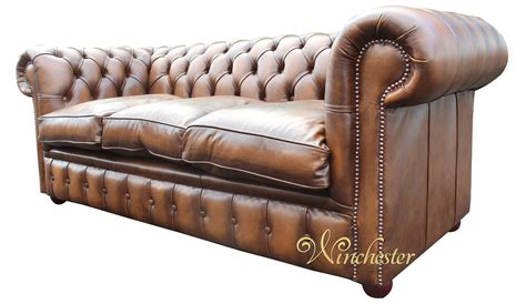 fibre filled sofa chesterfield 3 seater antique tan leather sofa settee
