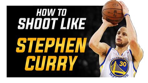 how to your like a how to shoot like stephen curry shooting form blueprint