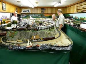 Free Toy Train Table Plans by Model Train Pictures Of A Dc Controlled Ho Layout