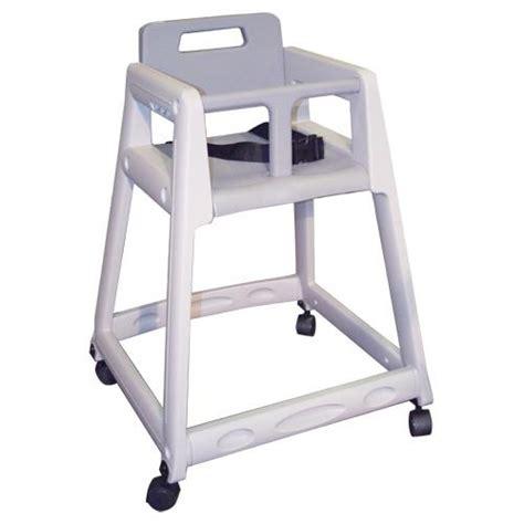 restaurant high chair koala kb850 01w gray plastic high chair etundra
