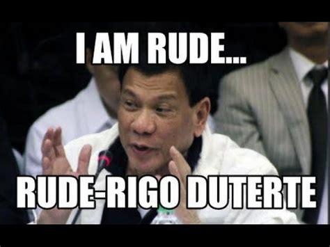 Duterte Memes - funny president rodrigo duterte memes laughtrip youtube
