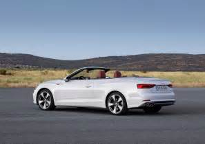 Audi Convertible A5 2017 Audi A5 Convertible Picture 694385 Car Review