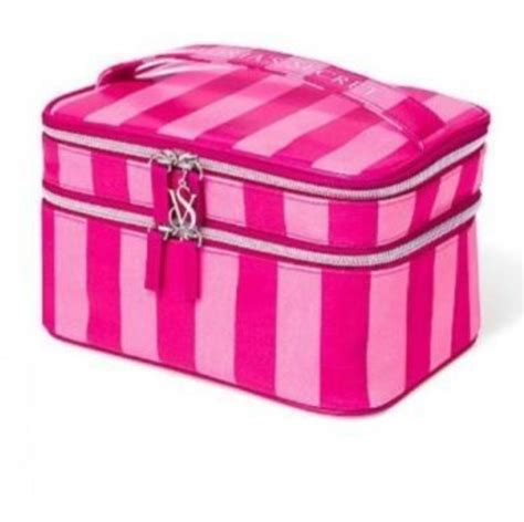 Secret Cosmetic Pouch 0024 s secret pink cosmetics makeup bag for perfume eyeshadow new rolling