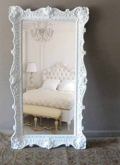 vintage leaning floor mirror opulent hollywood regency