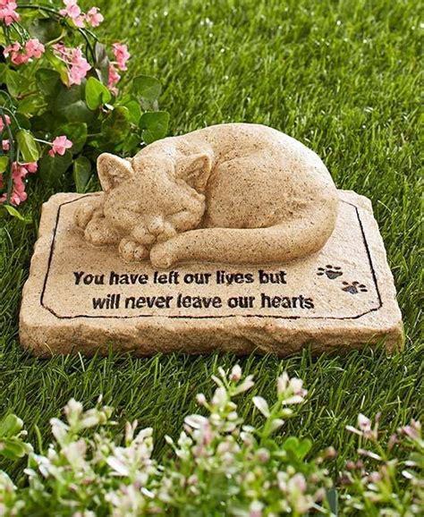 Pet Memorial Garden Ideas The 25 Best Cat Memorial Stones Ideas On