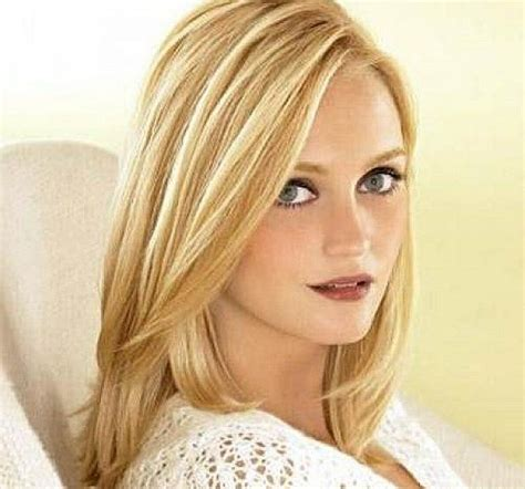 hairstyles medium blonde fine hair shoulder length hairstyles for thin hair best shoulder