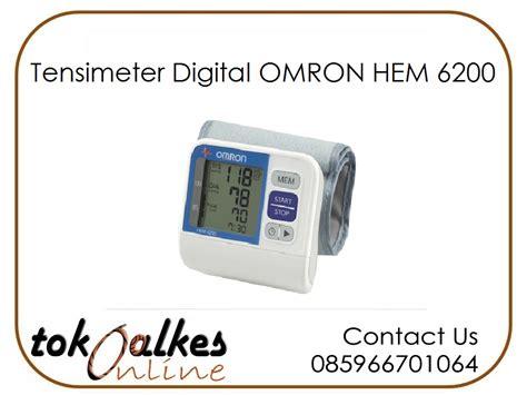 Daftar Tensimeter Digital Omron tensimeter digital omron hem 6200 toko alat kesehatan