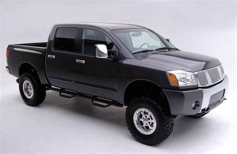 2008 nissan titan 4wd 6 quot suspension systems road