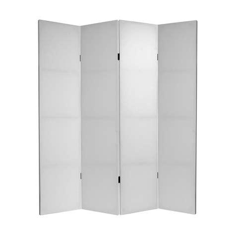 shop oriental furniture room dividers 4 panel white