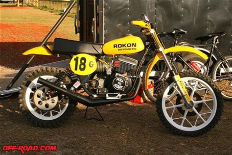 arizona mikes vintage motocross bikes mike murphy s beautiful 76 rokon cobra 340 motocrosser