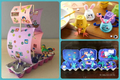 crafts with egg cartons 3 creative egg crafts for preschoolers and