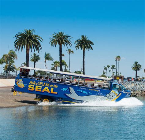 san diego boat bus tour san diego trolley and seal tour package seaport village