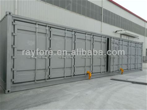 40 Open Side Shipping Container Price 40ft open side shipping container buy 40 open side