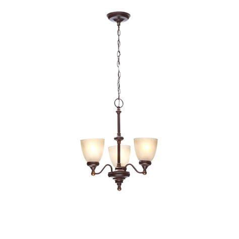 forty designs bristol 6 light chandelier hton bay bristol collection 3 light nutmeg bronze