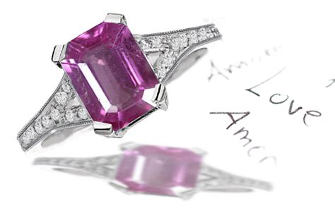 Pink Sapphire 2 25 Cts affordable colored gemstones and engagement rings