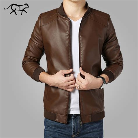 jaqueta de couro masculino avalia 231 245 es shopping
