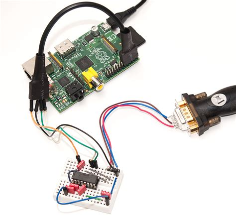 serial console raspberry pi serial console with max3232cpe