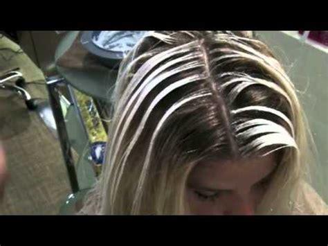 thin slicing foils no foils hair lighting technique youtube