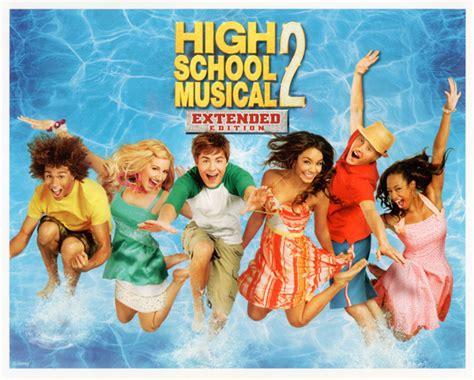 high school musical 2 high school musical 2 movie poster set of 4 lithos 8x10 ebay