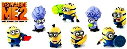 Minion Happy Meal Mcdonald Cards despicable me 2 mcdonald s 2013 set of 8 happy meal