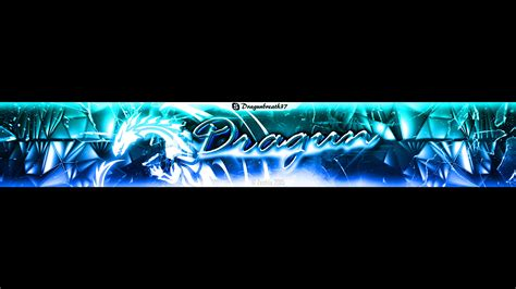 fresh clean youtube channel banner template