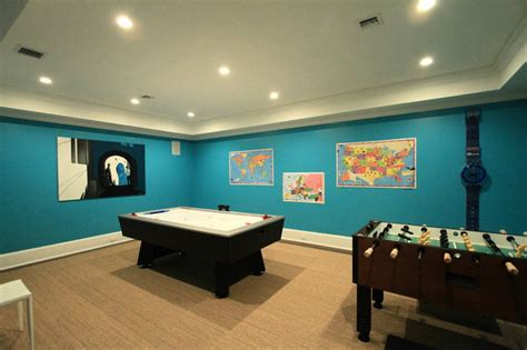room in lower level eclectic basement new york by heartwood corp