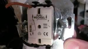 le anschliessen schalter einbauen vorbereitung eines elektrischen