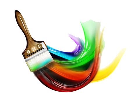 brush painting painting brush png clipart best