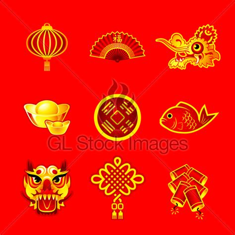 new year symbols and customs new year symbols 183 gl stock images