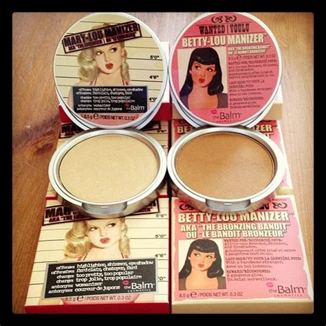 The Balm Manizer Highlighter the balm s lou manizer highlighter and betty lou