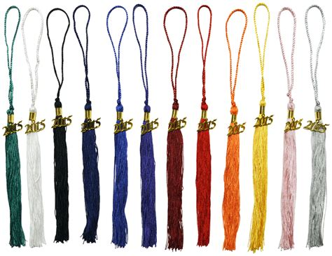 tassel colors wholesale one color tassels graduation 1 color tassels