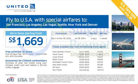united baggage allowance coupons united airlines usa promo air fares 18 28 jul 2014