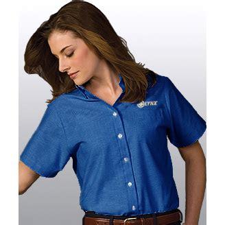 design lab online lynx ladies ss dress shirt french blue lynx