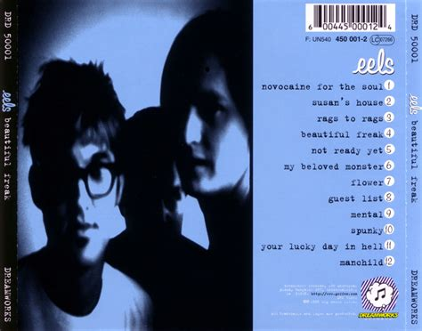 beautiful freak car 225 tula trasera de eels beautiful freak portada