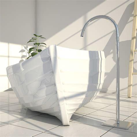 vasca di bagno vasca da bagno di design a forma di barca made in italy