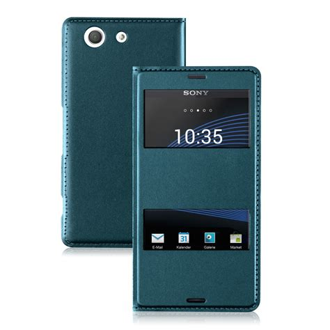 Ume Sony Xperia Z3 Flip kwmobile flip cover h 220 lle f 220 r sony xperia z3 compact tasche kunstleder
