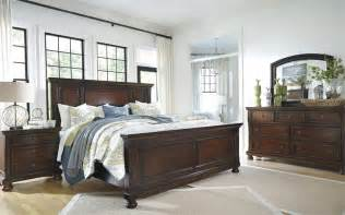 porter panel bed from millennium by furniture