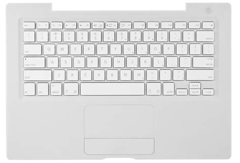 Keyboard Macbook White Unibody apple service part 922 7885 apple macbook top cover w
