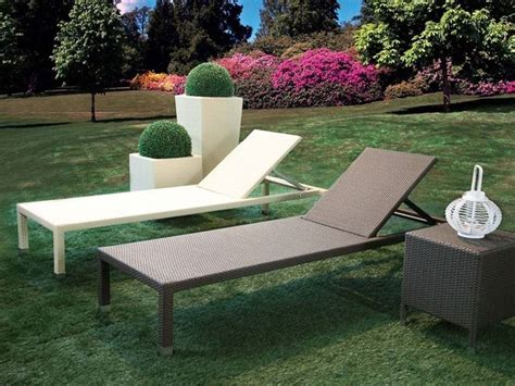 sdraio da terrazzo lettini da giardino mobili da giardino lettini da