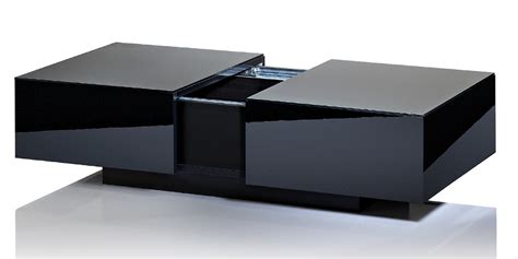 table basse noir laqu 233 pas cher table basse