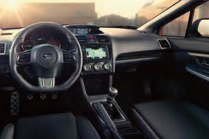 2015 Subaru Wrx Interior 2015 Subaru Wrx Features And Specs Announced