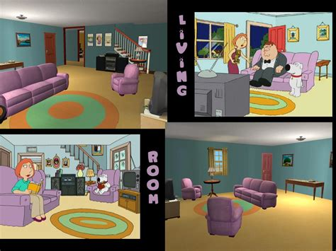 family guy living room mod the sims 31 spooner street