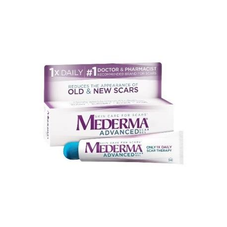 mederma advanced scar gel 7 oz mederma advanced scar gel 0 7 oz 20 g